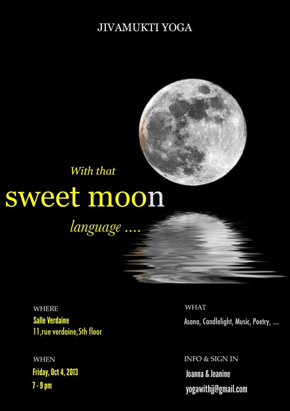 Special candlelight class : With that sweet moon language...