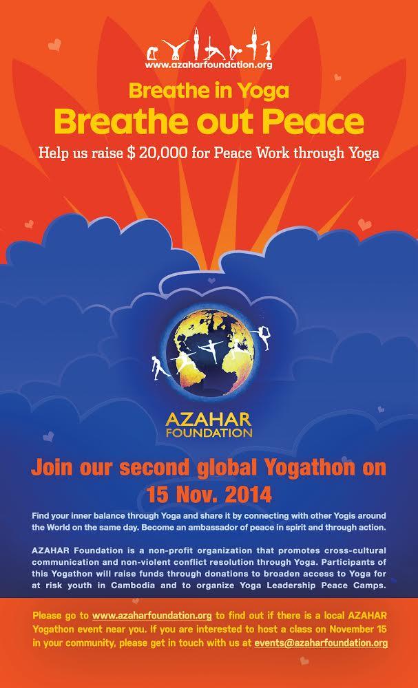 2014 Azahar FoundationYogathon